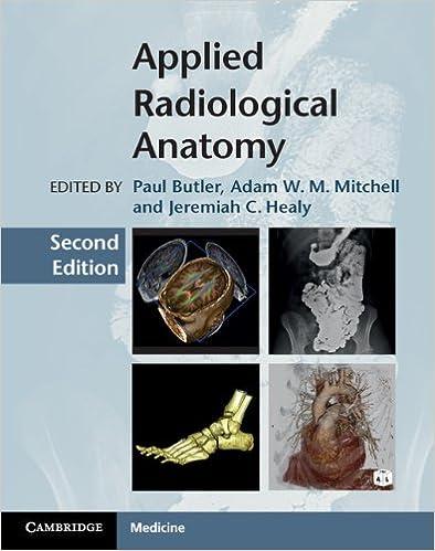 Applied Radiological Anatomy Kindle Edition By Paul Butler Adam