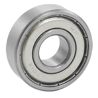 Teniendo eDealMax 6201ZZ 12 x 32 x 10 mm Doble Protección de ranura profunda de ruedas: Amazon.com: Industrial & Scientific