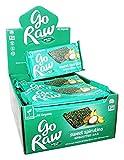 Go Raw - Organic Sprouted Bars Box Sweet Spirulina - 25 Bars