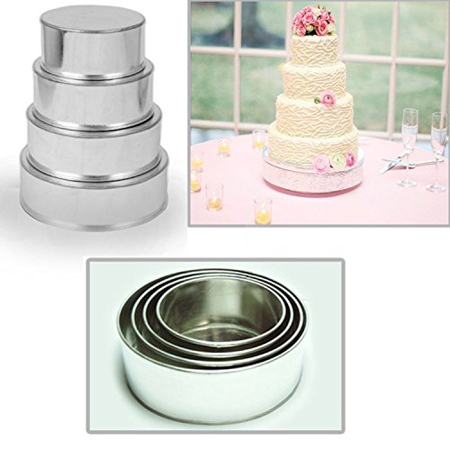 Amazon.com: 4 Tier Round Multilayer Wedding Birthday Anniversary