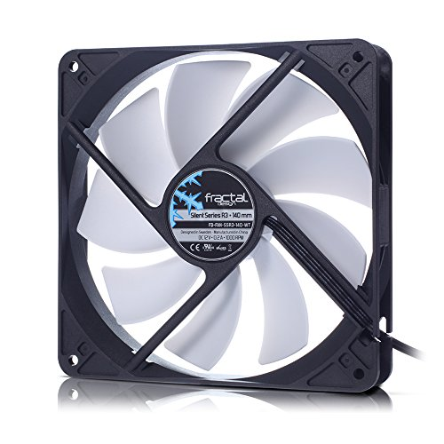 Fractal Design Silent Series 140mm R3 Case Fan FD-FAN-SSR3-140-WT