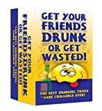 World Dominating Games Get Your Friends Drunk or Get Wasted! Hilarious Adult Trivia Card Game - Best for Friends and Family Fun - Christmas, Birthday Parties and Get Together