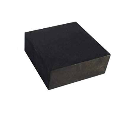 OTOOLWORLD 99 9% Purity Graphite Ingot Block EDM Graphite Plate Milling  Surface (50MMx50MMx20MM)