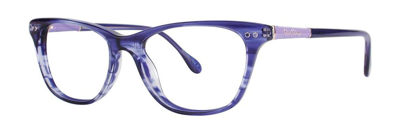 LILLY PULITZER Eyeglasses ELLIS Blue Havana 50MM