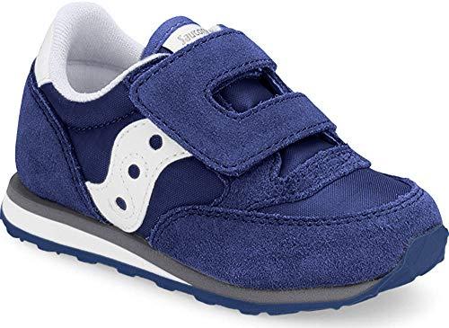 Saucony Jazz Hook & Loop Sneaker (Toddler/Little Kid), Cobalt Blue, 10 M US Toddler (Saucony Shoes Kid Little)