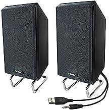 Sima XL-PRO-SPK 10 W Computer/Projector Speakers with Standard Headphone Plug, Black