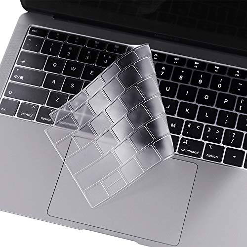ProElife Premium Keyboard Cover Ultra Thin TPU Keyboard Protective Skin for New Apple MacBook Air 13