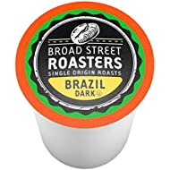 Broad Street Roasters Gourmet Coffee, Brazil, Compatible with 2.0 K-Cup Brewers, 40 Count
