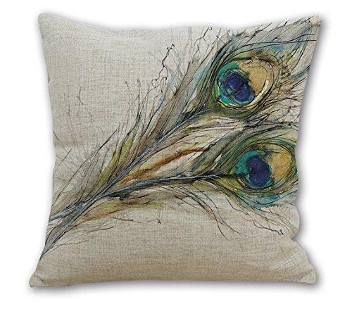 Janet Voss Cotton Linen Home Office Decorative Throw Pillow