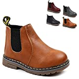 Save Beautiful Baby Kids Boots Girl Boy Shoes Rain Hiking Winter Snow Boots (10 M US Toddler, Brown)