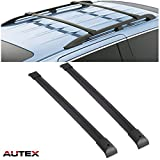 AUTEX Aluminum Roof Rack Crossbar Compatible with Honda Pilot 2003 2004 2005 2006 2007 2008 Pilot Luggage Carrier Cross Bar Rooftop Cargo Racks