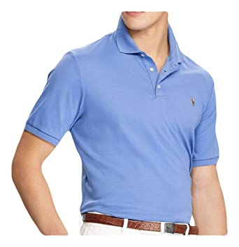 2360a626 Image Unavailable. Image not available for. Color: Ralph Lauren Polo Men's  Classic-Fit Soft-Touch Pima ...