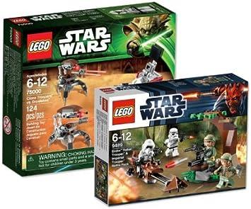 Lego Star Wars Set of 9489 Endor Rebel Trooper & Imperial Trooper ...