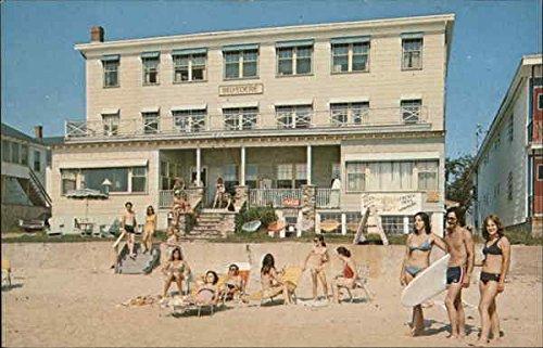 Hotel Belvedere Old Orchard Beach, Maine Original Vintage Postcard