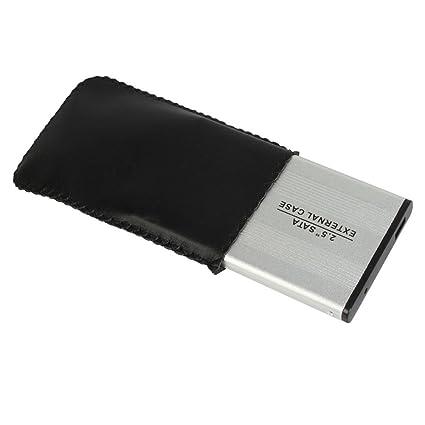 6,35 cm USB 2,0 Zotop carcasa para disco duro SATA de (plata ...