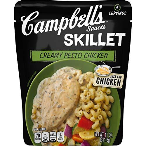 Campbell's Skillet Sauces, Creamy Pesto Chicken, 11 Ounce