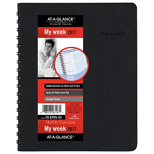 GLANCE Weekly Appointment Planner 70 EP05 05