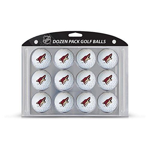 Team Golf NHL Arizona Coyotes Dozen Regulation Size Golf Balls, 12 Pack, Full Color Durable Team Imprint