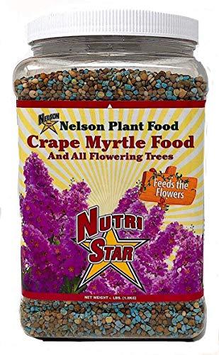 Crape Myrtle & All Flowering Trees Desert Willow Mimosa Orchid Tree Indoor Outdoor Container Grown Granular Fertilizer NutriStar 10-15-9 (2 lb) ()