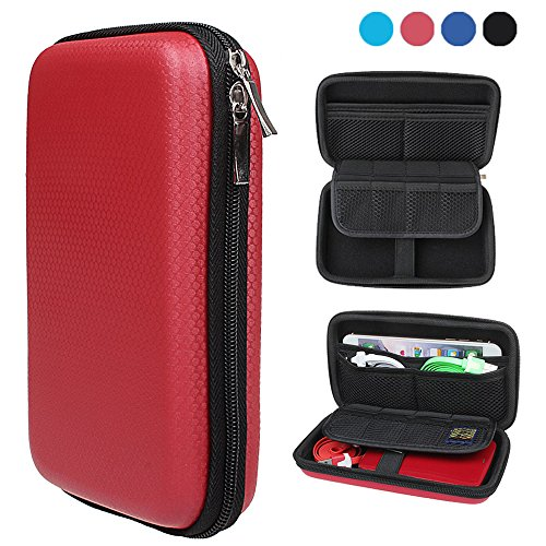 xhorizon TM FX Portable Waterproof Hard EVA Shockproof Travel Carry Protective Case Cover Pouch Box Bag for PlayStation Vita / HDD / External Battery Charger / Earphone / USB Disk / Memory Card by xhorizon (Image #7)
