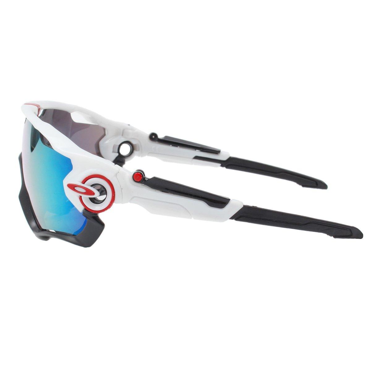 Unisex Gafas de sol outerdo Sport Gafas Ojo Protección Wind Densidad Glaser con 5 lente de Fur Outdoor Sports hochauflosende polarisationen Anti-Fog Anti UV ...