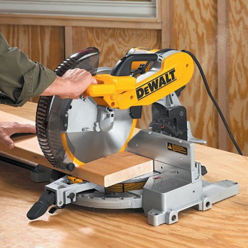 028877505749 - DEWALT DW716 15 Amp 12-Inch Double-Bevel Compound Miter Saw carousel main 7