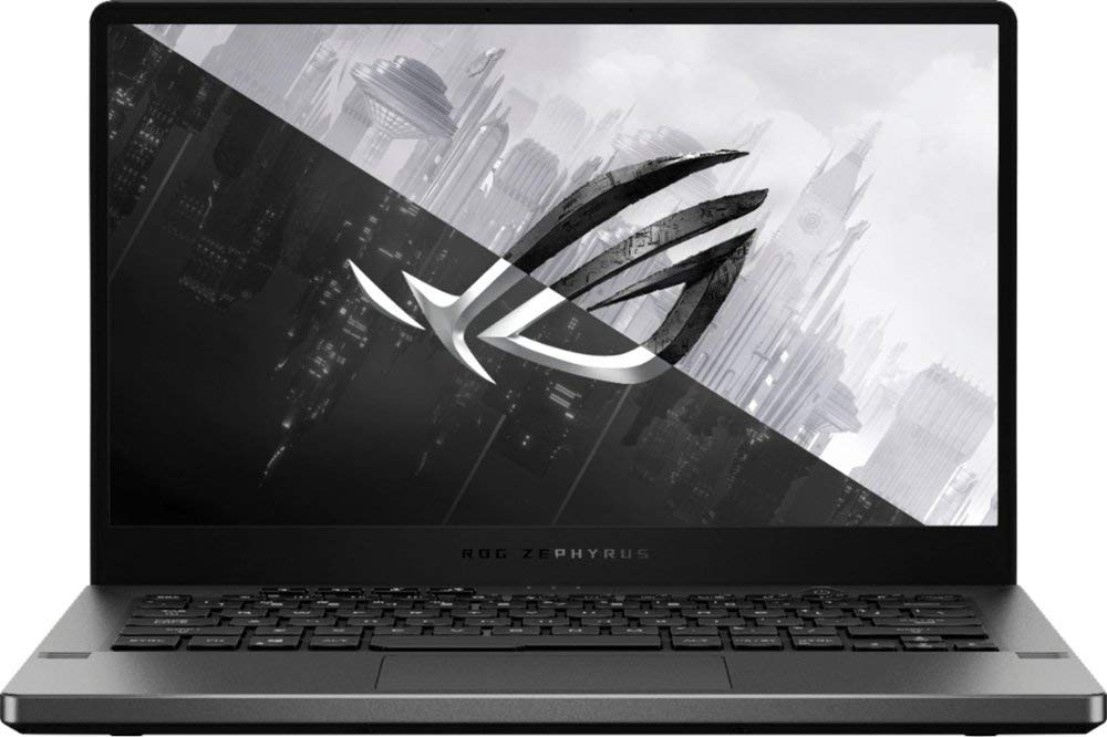 ASUS ROG Zephyrus G14 14-inch FHD 512GB SSD 2.9GHz Ryzen 7 VR Ready Laptop (8GB RAM, 8-Core AMD Ryzen 7, GeForce GTX 1650) Eclipse Gray, GA401IH-BR7N2BL