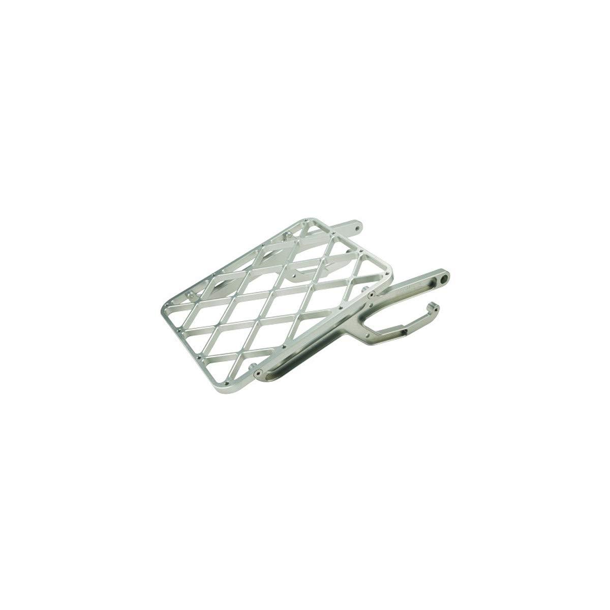 Pro Moto Billet Rack-It Cargo Rack 00-07 SUZUKI DRZ400E Silver