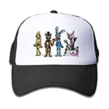 Enlove Five Nights At Freddy's The Mangle8 Youth Adjustable Baseball Mesh Cap For Children One Size