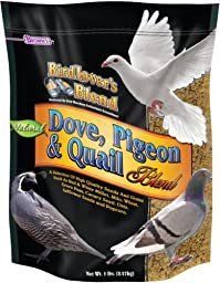F.M. Brown\'s Bird Lover\'s Blend Dove Food for Pets, 5-Pound