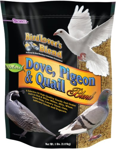 F.M. Brown's Bird Lover's Blend Dove Food for Pets, 5-Pound ()