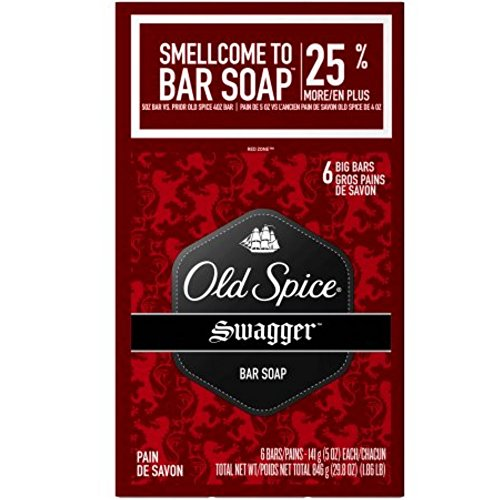 Old Spice, Red Zone Bar Soap, Swagger,