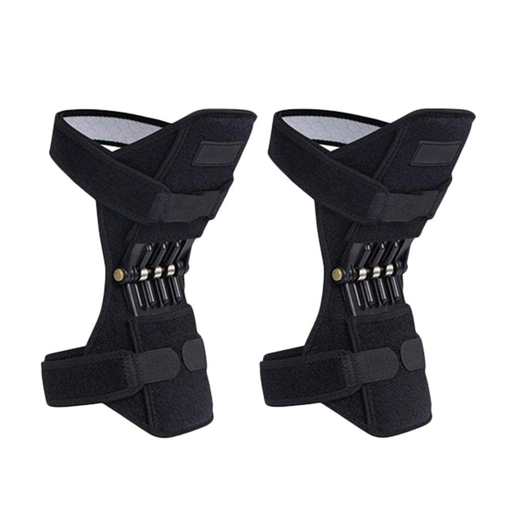 Powerlift Joint Support Knee Pads Rebound Spring Force Patella Booster Protector Wristband Horizontal Bars