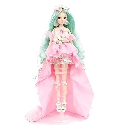 fortune days Mystery Magic Girl BJD Doll 12 inch Twelve Constellation Series Doll (Virgo): Toys & Games
