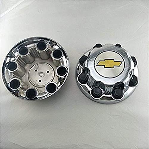 2000-2008 Chevy Silverado 2500 16 8 LUG WHEEL CHROME hub caps