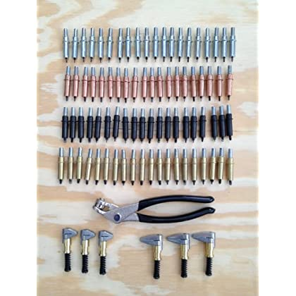Image of Aircraft Specialty Original Cleco Fastener Deluxe Kit- Cleco Fasteners, Clamps, and Padded Pliers! High Quality Made in USA