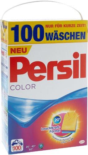 Persil Color Pulver Sondergröße, Waschmittel, 100WL