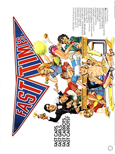 Fast Times at Ridgemont High (1982) Movie Poster 24'x36'