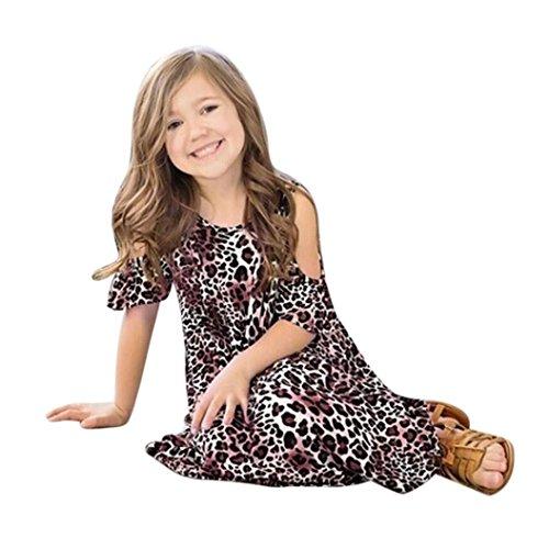 [해외]Botrong 패션 키즈 오프 쇼어 프린트 여름 보헤미안 드레스/Botrong Fashion Kids Girls Off Shoulder Printing Summer Bohemian Dress