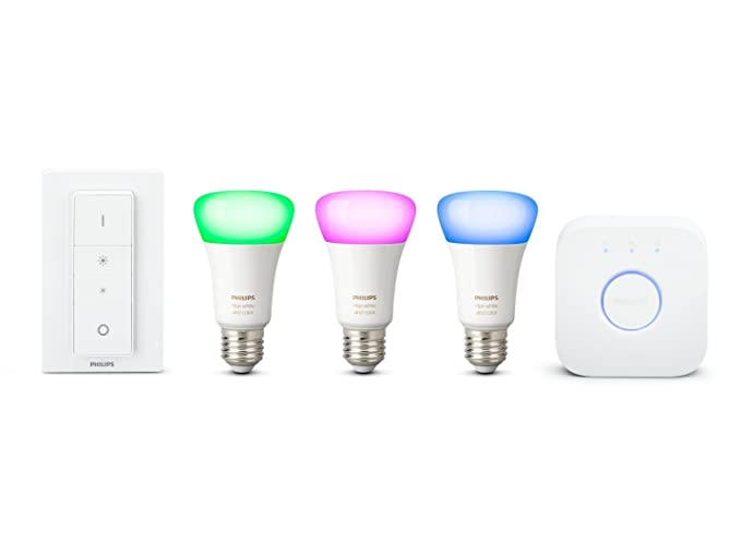 Philips Hue White Und Color Ambiance E27 Led Lampe Starter Set Drei