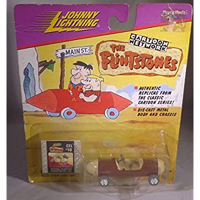 JOHNNY LIGHTNING CARTOON NETWORK THE FLINSTONES BARNEY RUBBLE'S SPORTS CAR: Toys & Games