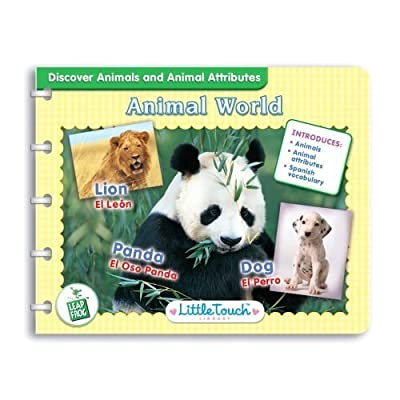 LittleTouch LeapPad Library: Animal World: Toys & Games