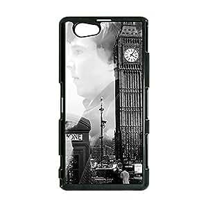 Fashion Retro Big Ben HBC TV Show Sherlock Holmes Phone Case Cover for Sony Xperia Z1 Compact / Z1 Mini Sherlock Unique