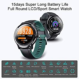 Smart Watch for Health & Fitness Tracker with Heart Rate Monitor, Activity Tracker, Step Counter, Sleep Monitor, Calorie…