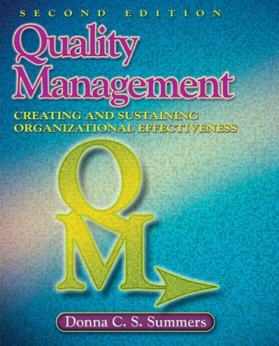 Quality Management (2nd Edition)