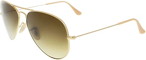 a3464f8326 Image Unavailable. Image not available for. Colour  Ray-Ban Men s Aviator  RB3025-112 85-58 Gold Aviator Sunglasses