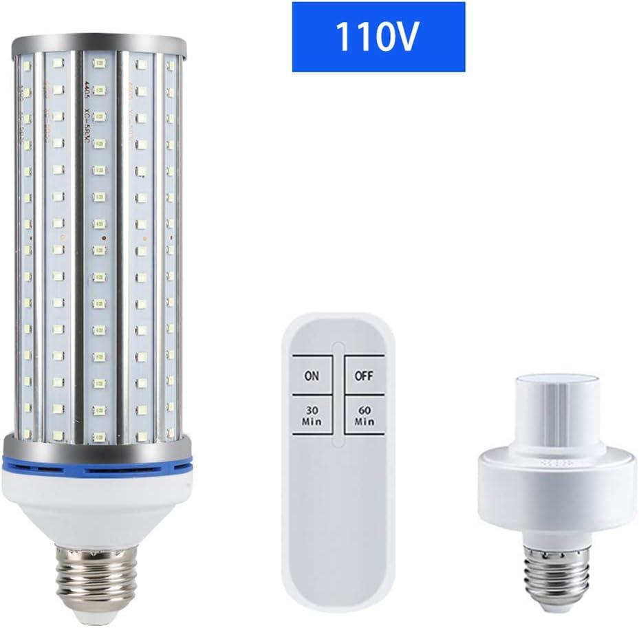 UV-UV-R/öhrenlampe UV-UVC-Maiskolben E26 // E27 Schraubfassung mit Fernbedienung f/ür Zuhause DEUTSCHLAND LAGER Neue 60W UV-Keimt/ötungslampe B/üro