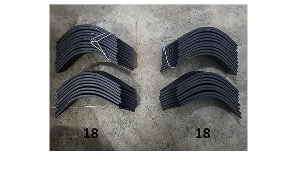 Amazon com: 18 Each LH & RH Tiller Tines for Land Pride RTA2570-4