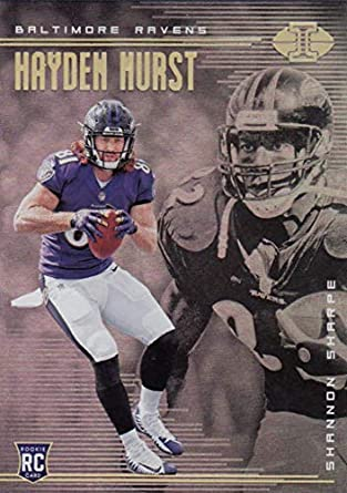new products 6f95a 2493d Amazon.com: Football NFL 2018 Panini Illusions #13 Hayden ...