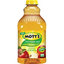 Mott's 100% Apple Juice, 64 fl oz bottle